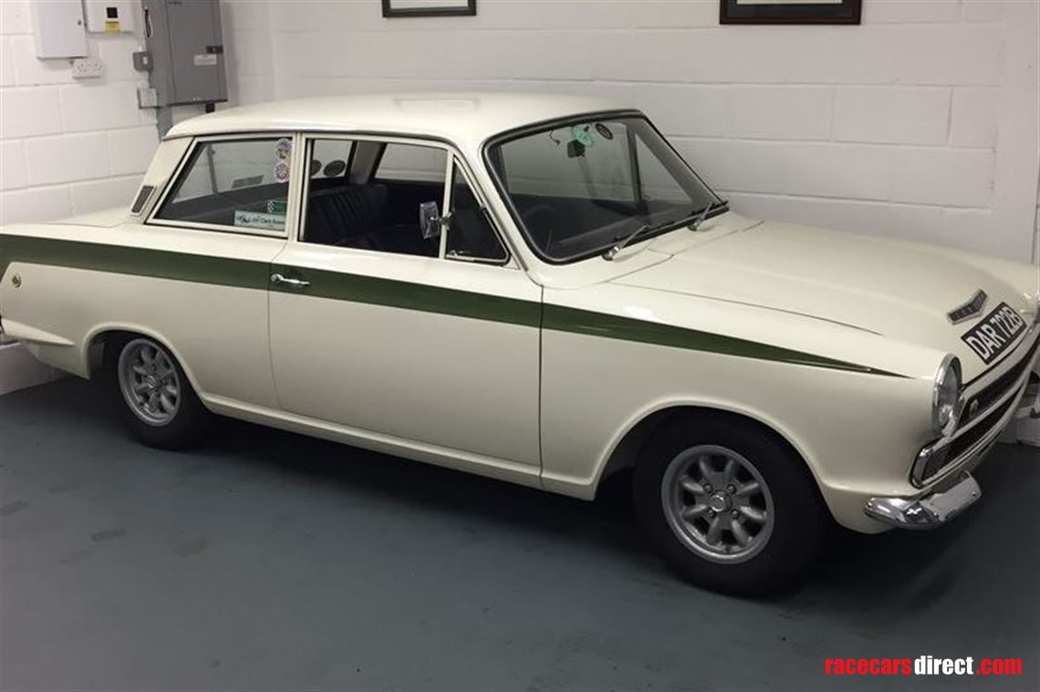 1964 Ian Walker LOTUS CORTINA MK1