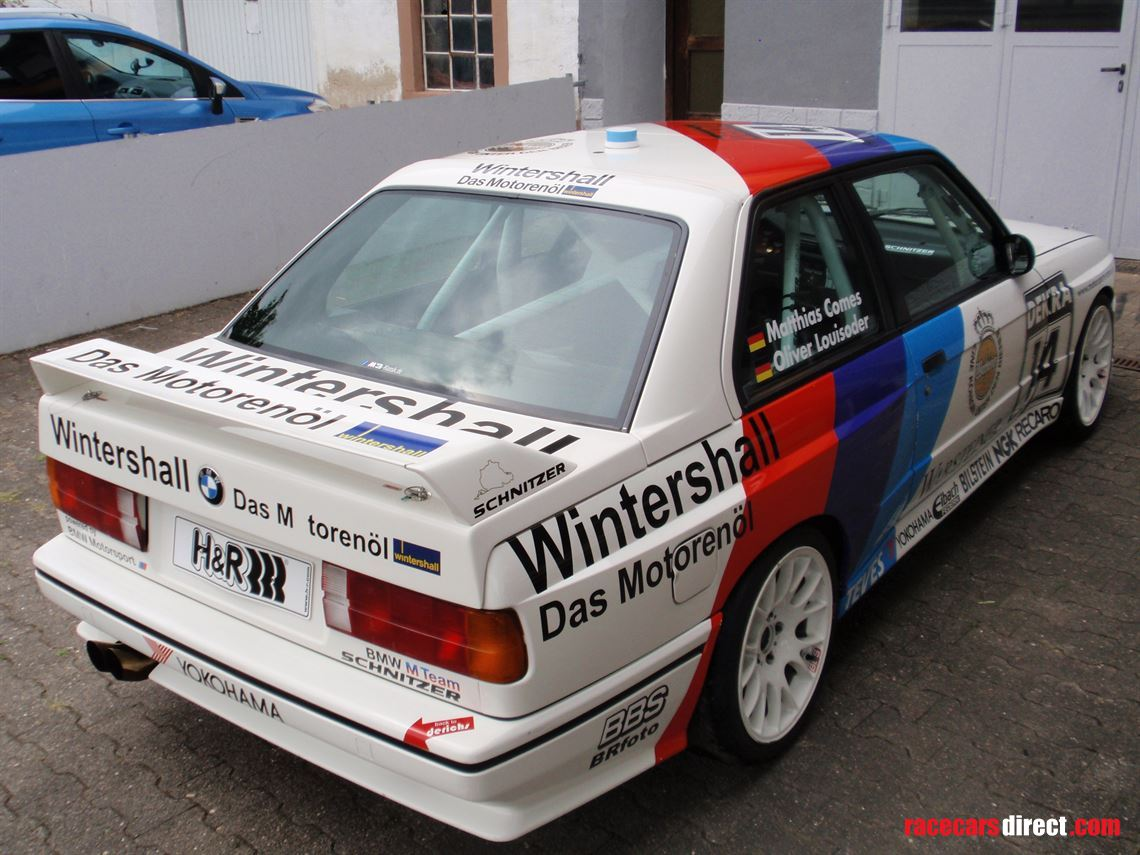 Racecarsdirect.com - BMW M3 E30 race car with German DMSB