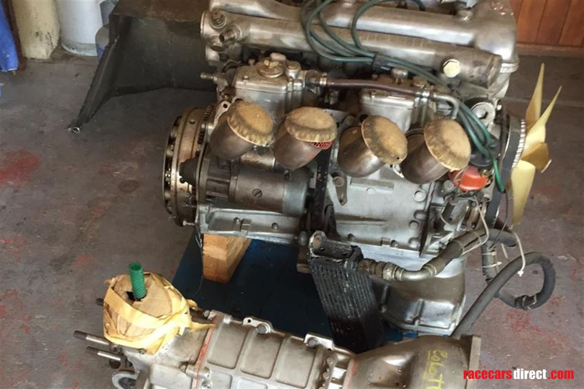 Alfa race engine 160 HP & Colotti gearbox