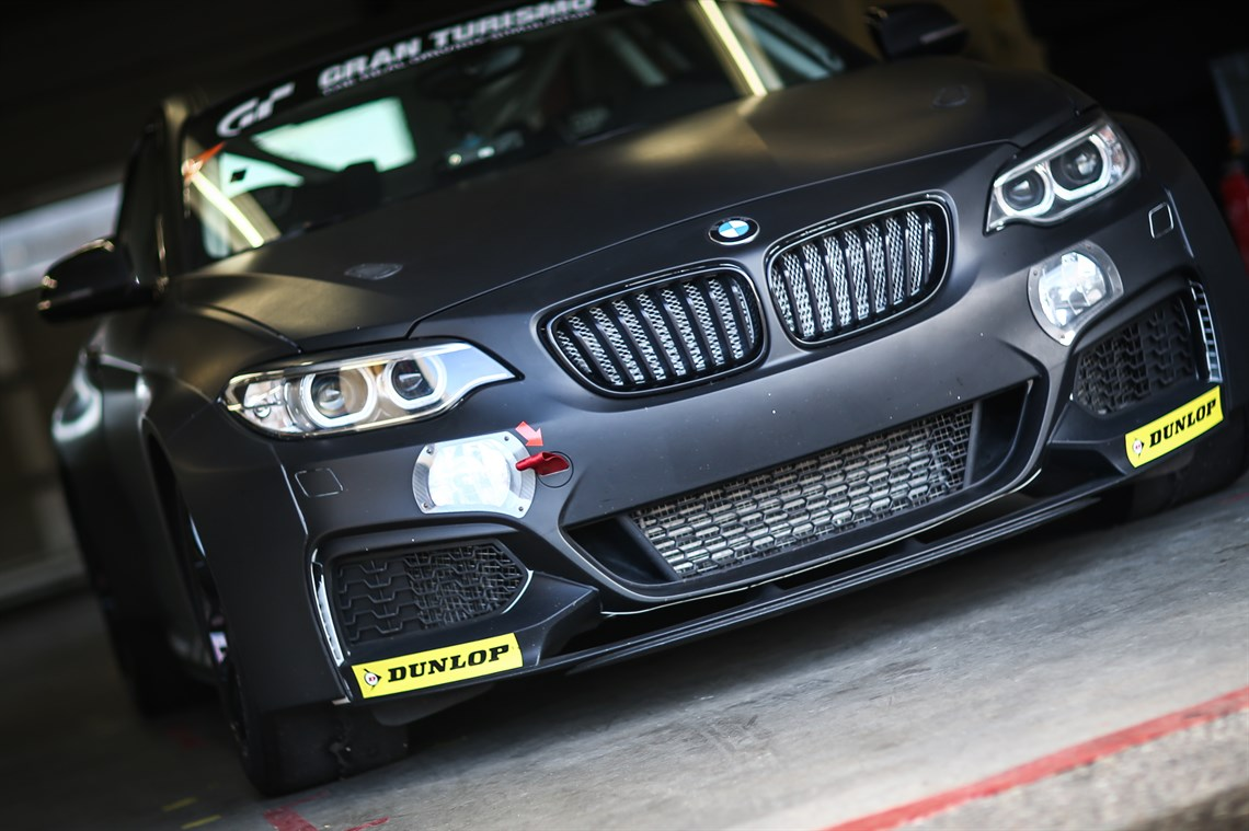 Bmw m235i racing for Go kart interieur