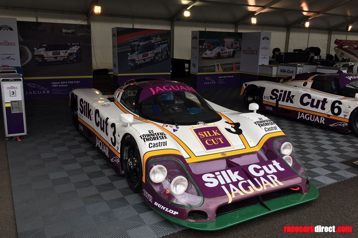 In use at the Le Mans Classic