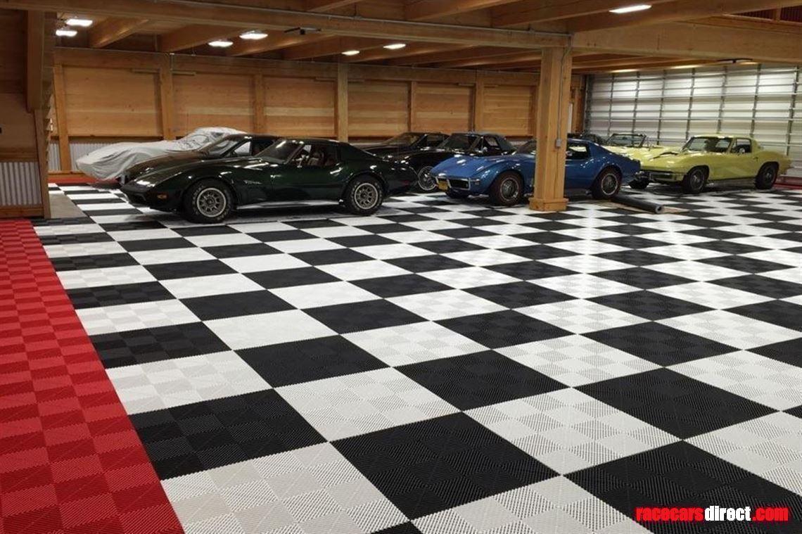 Racecarsdirect Com Swisstrax Ribtrax Floor Tiles