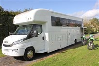 HR Iveco MX/Kart/Quad Motorhome for 6+ Brand new!