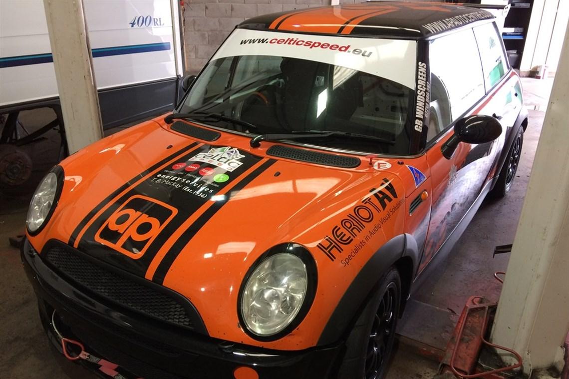 Racecarsdirect Com Mini Cooper Cup Challenge Car