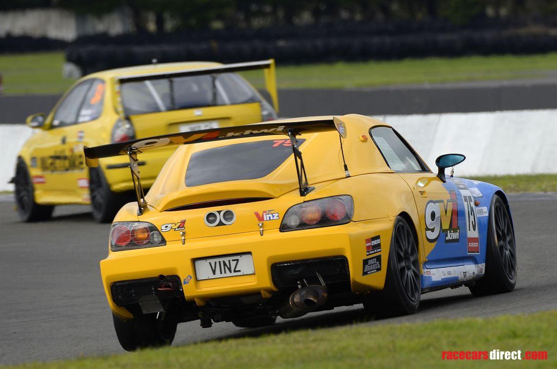 Spoon Sports S Race Car
