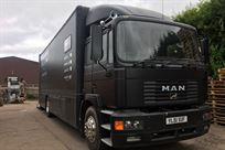 Man 18 ton Race Car Transporter